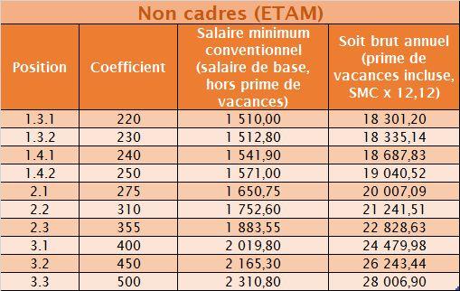 Syndicat Cfdt Ausy Les Minima Syntec